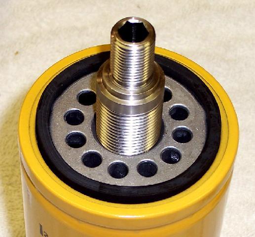 CAT fuel filter conversion kitJeep Liberty CRD